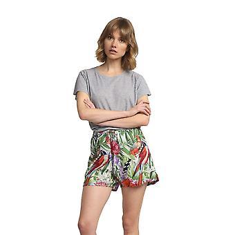 Shuuk Tropical-Print Shorts