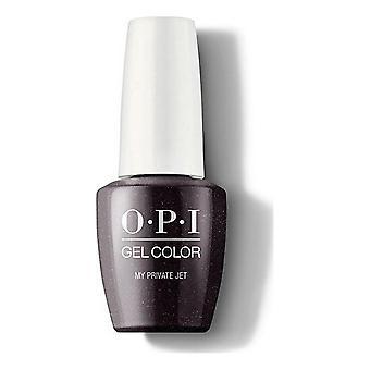 nail polish My Private Jet  Opi Black (15 ml)