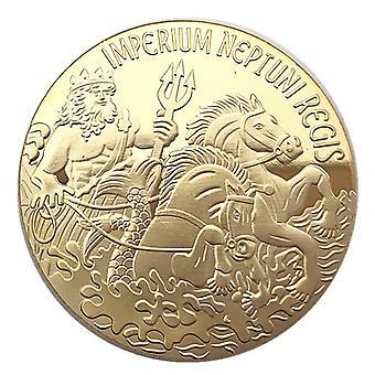 מלח אמריקאי מצופה זהב אוסף מטבעות זהב מטבע ים מטבע ים מטבע פיית שיניים מדליה מטבע