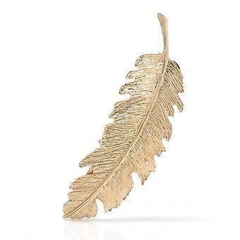 1pcs Leaf Feather Hair Clip Barrette Bobby Pins Women Hair Accessories Fashion Sweet Graceful Hairgrip 3 Kinds Hairpins