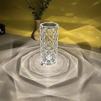 Led Crystal Lamp Diamond Rose Light Table Lamps Decoration Touch Atmosphere Night Light