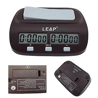 Digital Chess Clock Count Up Down Timer For Game Competition