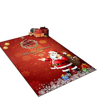 Silktaa Christmas Carpet Indoor And Outdoor Non-slip Carpet