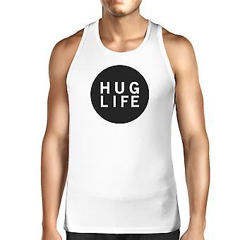 Abrazo diseño moda de vida los hombres camisa sin mangas vida citar Ideas para regalar