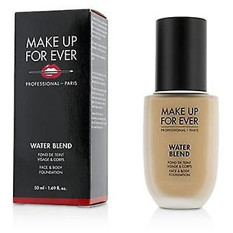 Make up para sempre Water Blend face & amp; Body Foundation-# R330 (Marfim quente)-50ml/1.69 oz