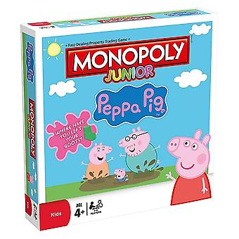 Monopoly Junior Family Board Game Peppa Pig Edition - 2 to 6 players