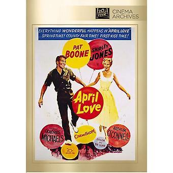 April Love [DVD] USA import