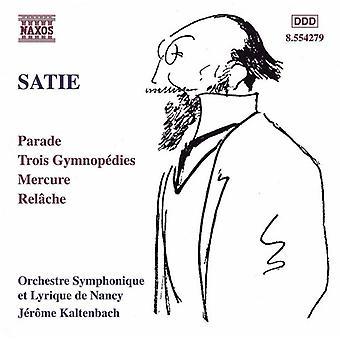 E. Satie - Satie: Orkesterverker [DVD] USA import