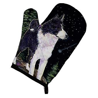 Carolines Treasures  SS8483OVMT Starry Night Karelian Bear Dog Oven Mitt