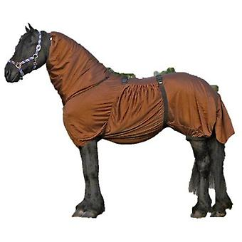 QHP Eczema Blanket Brown Frisian (Horses , Horse riding equipment , Bed covers , Others)