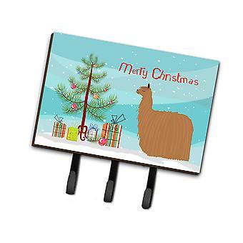 Carolines Treasures  BB9287TH68 Alpaca Suri Christmas Leash or Key Holder