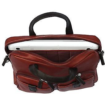 Кортес кожаный портфель бизнес мешок 15.6 дюймовый ноутбук случае плечо работа