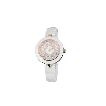 Ceramic watch and White Crystal 4742