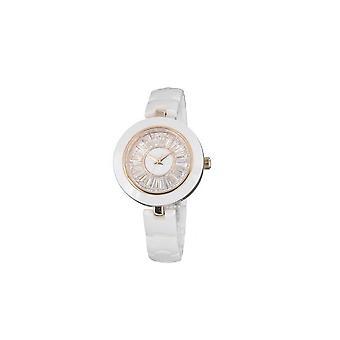 Watch keramik og krystal hvid