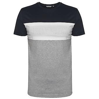 Antony Morato Antony Morato Crew Neck Block Embossed Logo T-Shirt