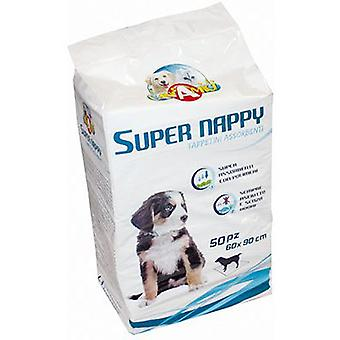 Nayeco Super large Nappy diaper wipe (parts) 50 units