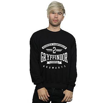 Harry Potter mænds Gryffindor Keeper Sweatshirt