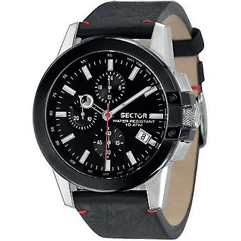 Sector watches mens watch 480 racing chronograph R3271797004