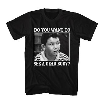 Stand By Me Dead Body Men's Black T-shirt