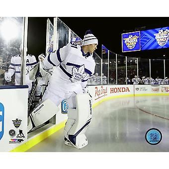 Frederik Andersen 2018 NHL Stadium Series Photo Print