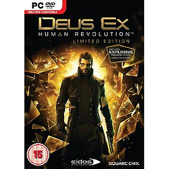 Deus Ex Human Revolution - Limited Edition (PC DVD) - As New
