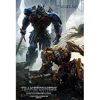Transformadores o último Poster do filme Knight (11 x 17)