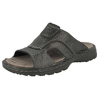 Mens Northwest Territory Leather Mule Sandals - Africa