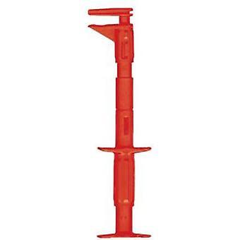 BEHA Amprobe 391511 turva taso testi anturi 4 mm pisto rasia CAT III 600 V punainen
