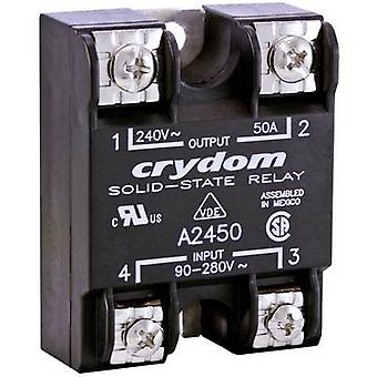 Crydom SSR A2450 Current load (max.): 50 A Switching voltage (max.): 280 V AC Zero crossing 1 pc(s)