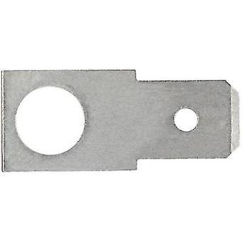 Klauken 2123 terä liitin liitin Leveys: 2,8 mm liitin paksuus: 0,8 mm 180 ° eristämättömät metalli 1 PCs()