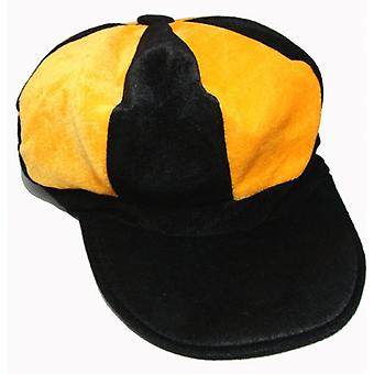 Union Jack Wear Yellow And Black Baker Boy Style Hat