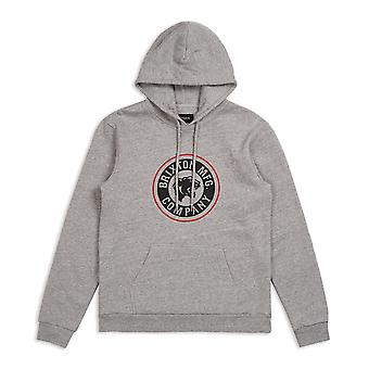 Brixton Forte Pullover Hoodie Heather
