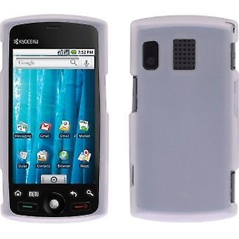 Sprint glad Gel geval voor Sanyo SCP-8600, Kyocera Zio M6000 - duidelijk