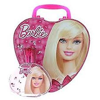 Barbie Gift Set 100ml EDT + Tin Box