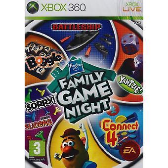 Hasbro familie spil nat bind 1 (Xbox 360)-fabriks forseglet