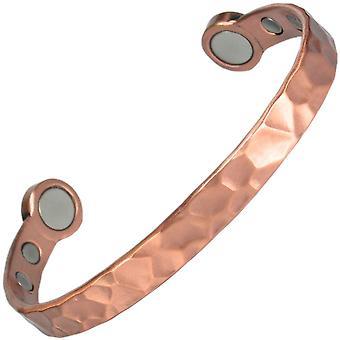 MPS® héros pur cuivre martelé Mega force bracelet magnétique + pochette cadeau