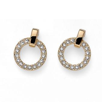 Oliver Weber Earring Relax Gold Crystal