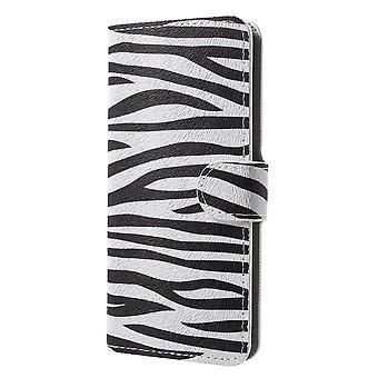 Samsung Galaxy S9 G960 Wallet Case-Zebra strepen