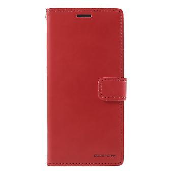 MERCURY GOOSPERY Blue Moon Samsung Galaxy S9 Plus-punainen