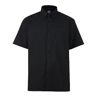 Kam Jeanswear Short Sleeve Oxford Shirts