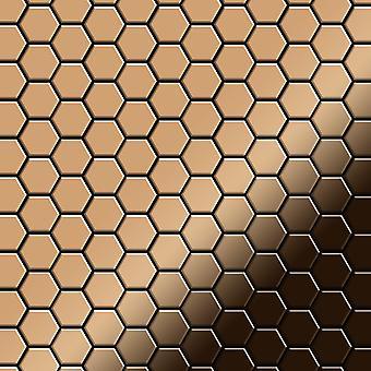 Metalowa mozaika z tytanu Alloy Honey-Ti-AM