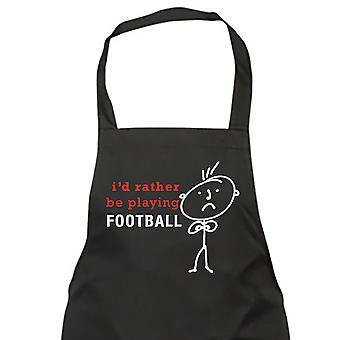 Men's I'd Rather Be Playing Football Apron