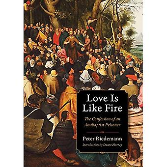 Love Is Like Fire: The Confession of an Anabaptist Prisoner (Plough Spiritual Classics: Backpack Classics for...
