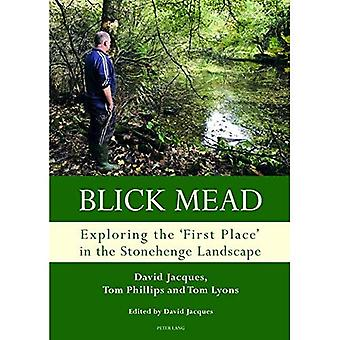 Blick Mead: Exploring the�'first place' in the�Stonehenge landscape:�Archaeological excavations at�Blick Mead, Amesbury,�Wiltshire 2005-2016 (Studies�in the British Mesolithic and�Neolithic)