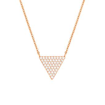 Bertha Sophia Collection Women's 18k RG Plated Fashion Necklace