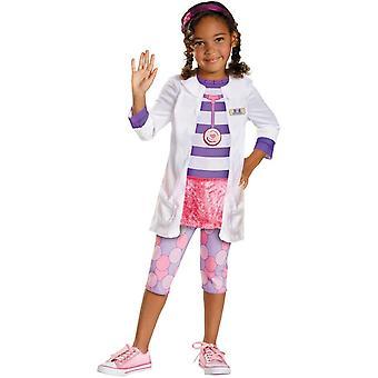 Костюм ребенка девушка Mcstuffins doc
