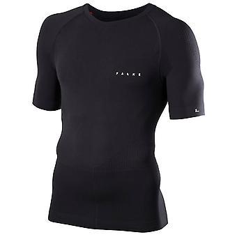 Falke-Impuls knapp Langarm-Shirt - schwarz