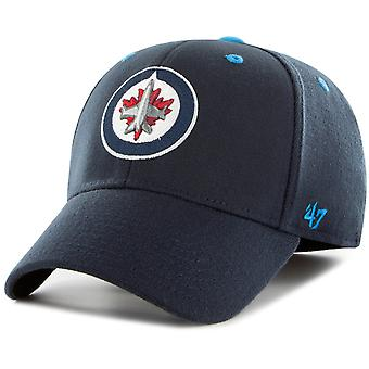 Navy 47 fire Stretch Cap - KICKOFF-Winnipeg Jets