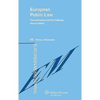 Derecho público europeo por Birkinshaw y Patrick J.