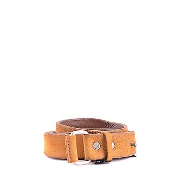 Orciani Ezbc136023 Men's Yellow Leather Belt
